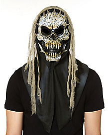 Fanged Skull Gauze Mask