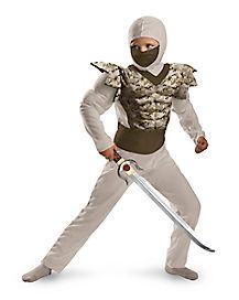 Kids Camo Ninja Costume