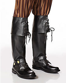 Tall Pirate Boot Covers - Deluxe