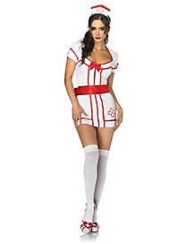 Knock Out Nurse Adult Womens Costume