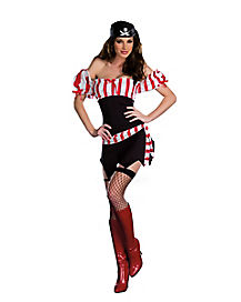 Adult Ships Ahoy Pirate Costume