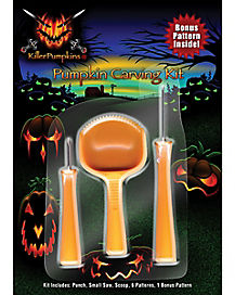 Killer Pumpkin Carving Kit