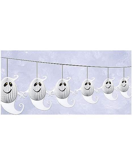 Spirit Halloween Wall Decor : Ghost garland decorations spirithalloween