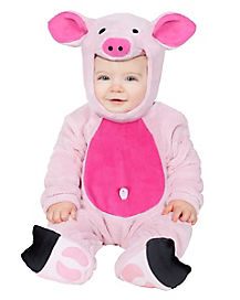 Baby Lil' Pink Pig Costume