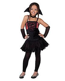 Kids Dark Red Vampire Costume
