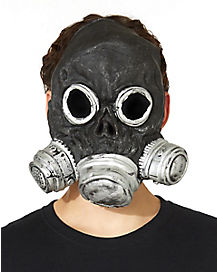 Black Bio Zombie Gas Mask