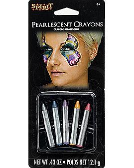 Pearlescent Makeup Crayons
