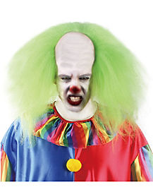 Green Clown Wig