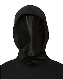 Black Invisible Ghoul Mask