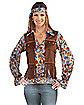 Adult Hippie Groovy Girl Costume