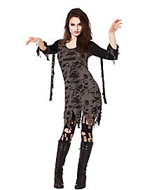 Fierce Flesh Eater Zombie Adult Womens Costume