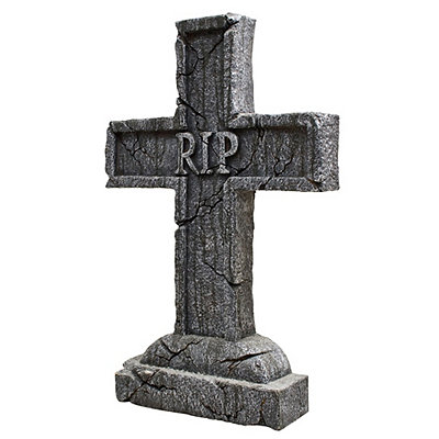 1.5 Ft RIP Tombstone - Decorations