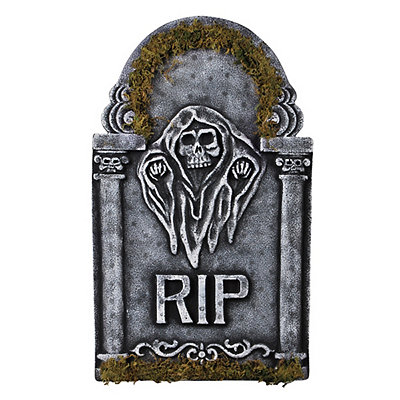 1.5 Ft RIP Reaper Tombstone - Decorations