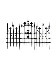 Gothic Cemetery Cross Fence