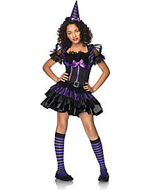Kids Spell Casting Sweetie Witch Costume