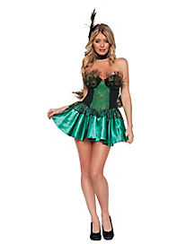 Peacock Adult Womens Costume