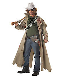 Zombie Hunter Adult Mens Costume