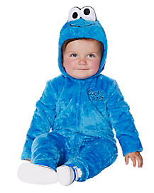 Sesame Street Cookie Monster Baby Costume