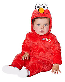 Toddler Elmo One Piece Costume - Seasame Street