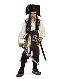 Kids Captain Jack Sparrow Costume - Pirates of the Caribbean