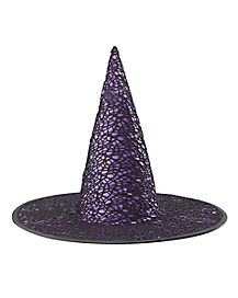 Purple Gothic Witch Hat