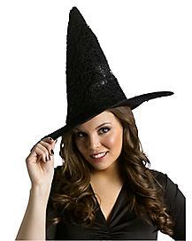 Black Gothic Witch Hat
