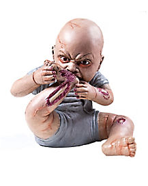 Snack Time Zombie Baby® Prop - Decorations
