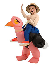 Kids Ollie the Ostrich Inflatable Costume