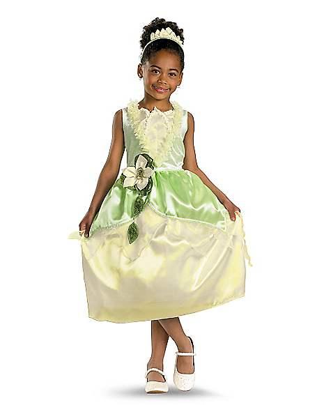 Princess Tiana Outfit: Kids Tiana Embellished Costume