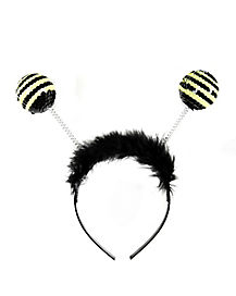 Black and Yellow Bee Antennas