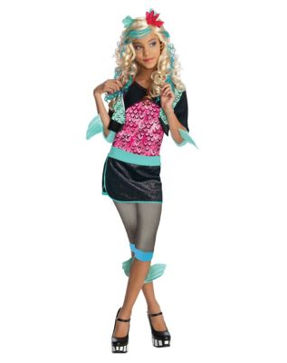 Monster High Lagoona Blue Girls Costume