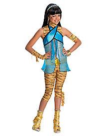 Monster High Cleo De Nile Girls Costume