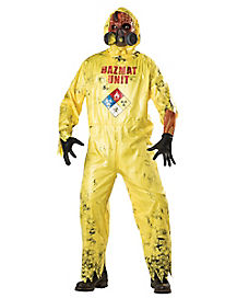 Adult Hazmat Hazard Costume