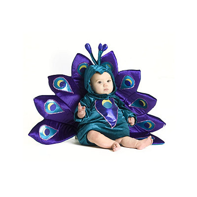 Baby Peacock Baby Costume