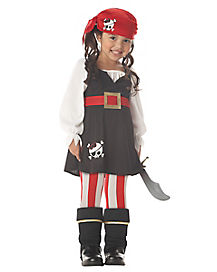 Toddler Precious Lil Pirate Costume