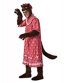Wolf Grannie Adult Mens Costume