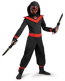 Kids Neon Ninja Costume