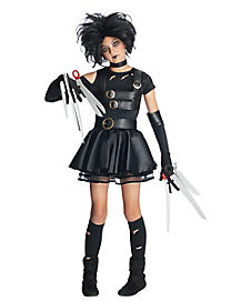 Tween Miss Scissorhands Costume - Edward Scissorhands