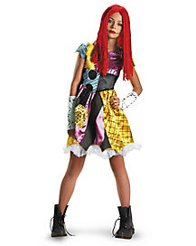 The Nightmare Before Christmas Sally Tween Costume