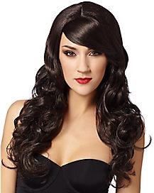 Dark Brown Supermodel Wig