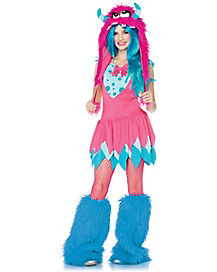 Tween Mischief Monster Costume