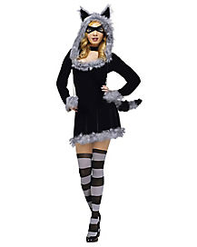 Adult Racy Raccoon Costume