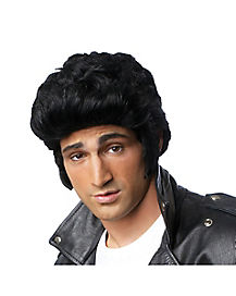 Black Pompadour Wig