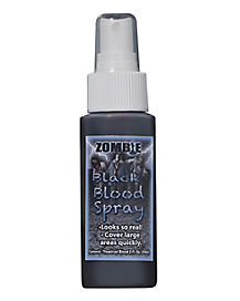 Black Blood Zombie Spray