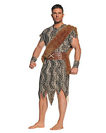 Cave Dweller Adult Mens Costume
