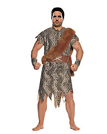adult cave dweller plus size costume - Classic Mens Halloween Costumes