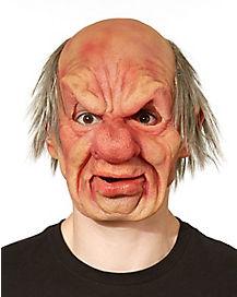 Grumpy Man Latex Mask