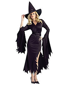 Adult Womens Gothic Witch Costume