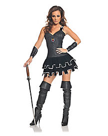 Adult All Knight Skirted Costume