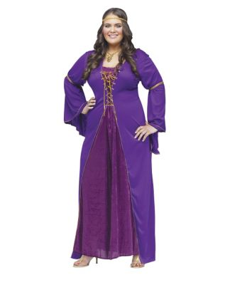 Medieval Miss Adult Womens Plus Size Costume